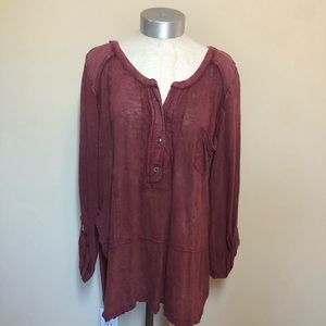 Free people we the free stargazer Henley